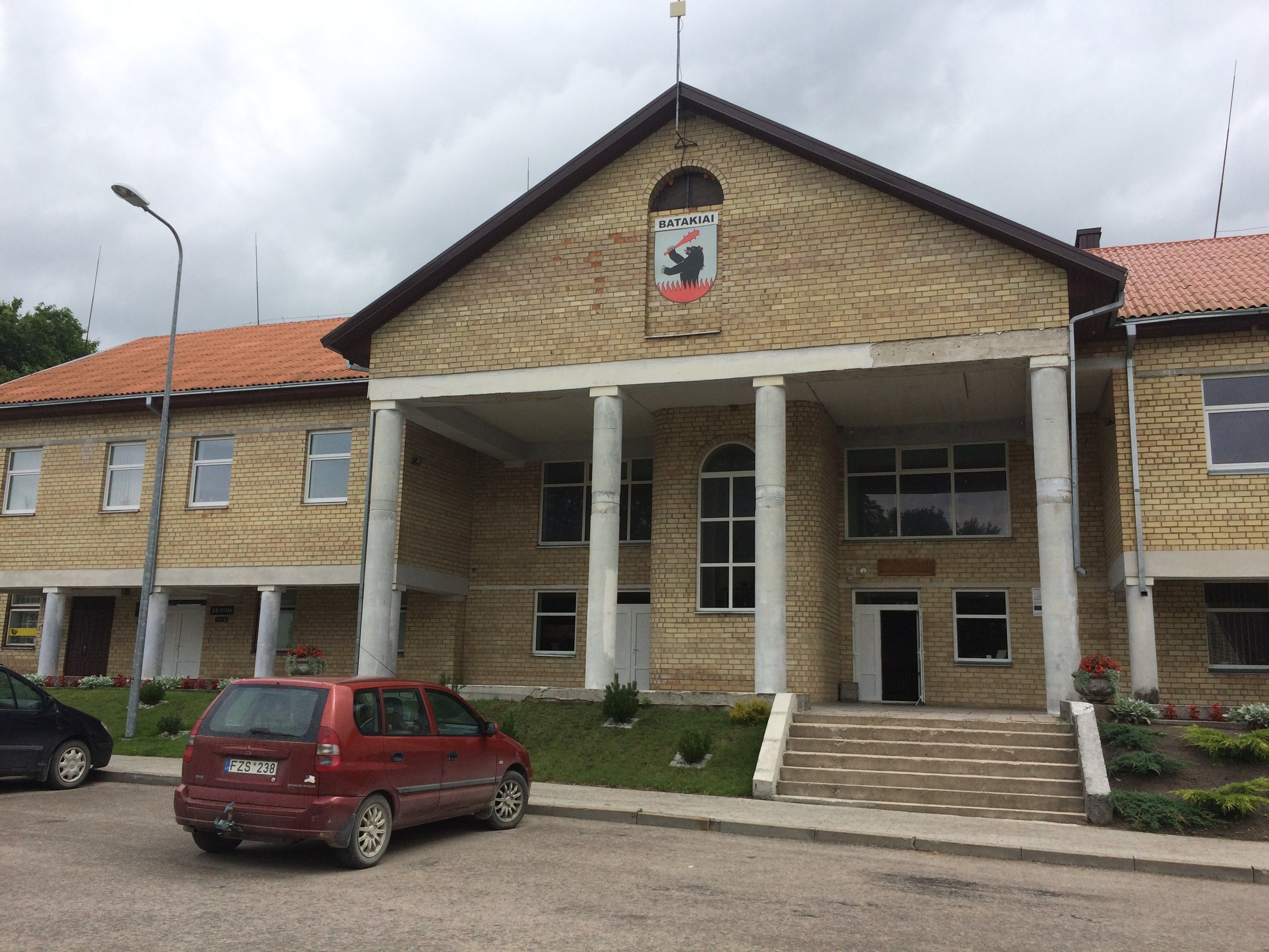 Town offices and post office
