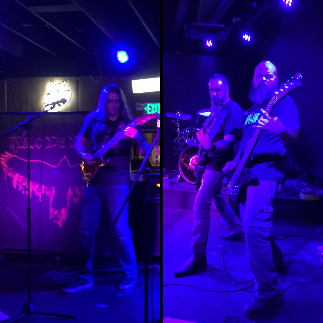 Steve, Stone, and Cris of Malo De Dentro perform live at the Starlite Lounge July 13, 2018