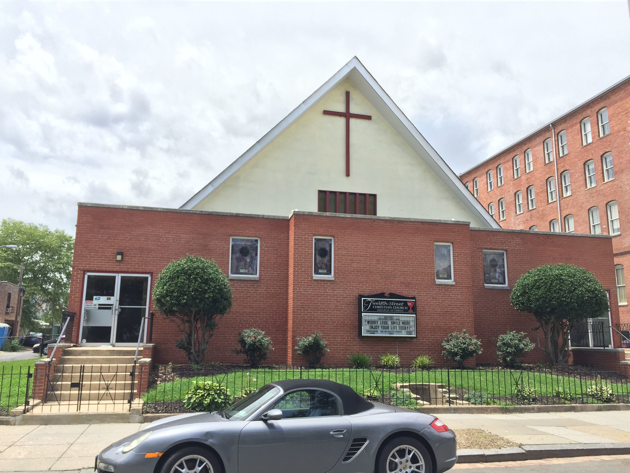 Twelfth Street Christian Church - Senior Pastor: The Rev. Dr. Paul SaddlerPhone: 202-265-4494Fax: 202-265-4340E-mail: eMail UsAddress:1812 12th Street NWWashington, District of Columbia 20009Get Map!