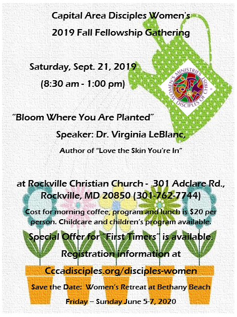 Disciples Women Fall 2019 Event flyer.png