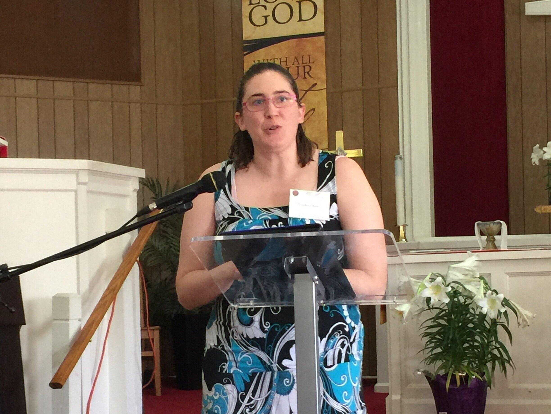 Rev. Elizabeth Baird, Ministers' Association President-Elect
