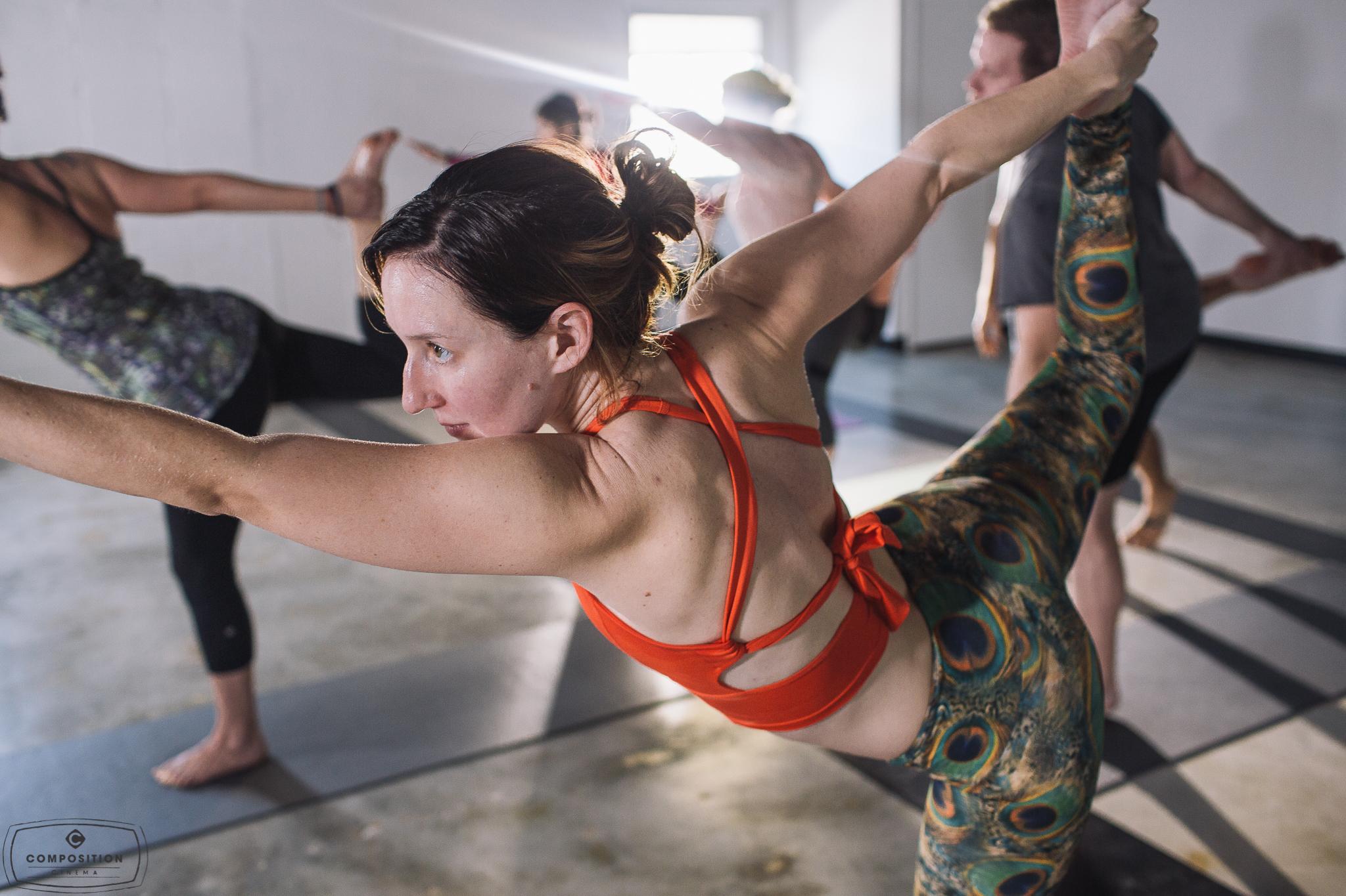 Gaze Hot Yoga Class 1