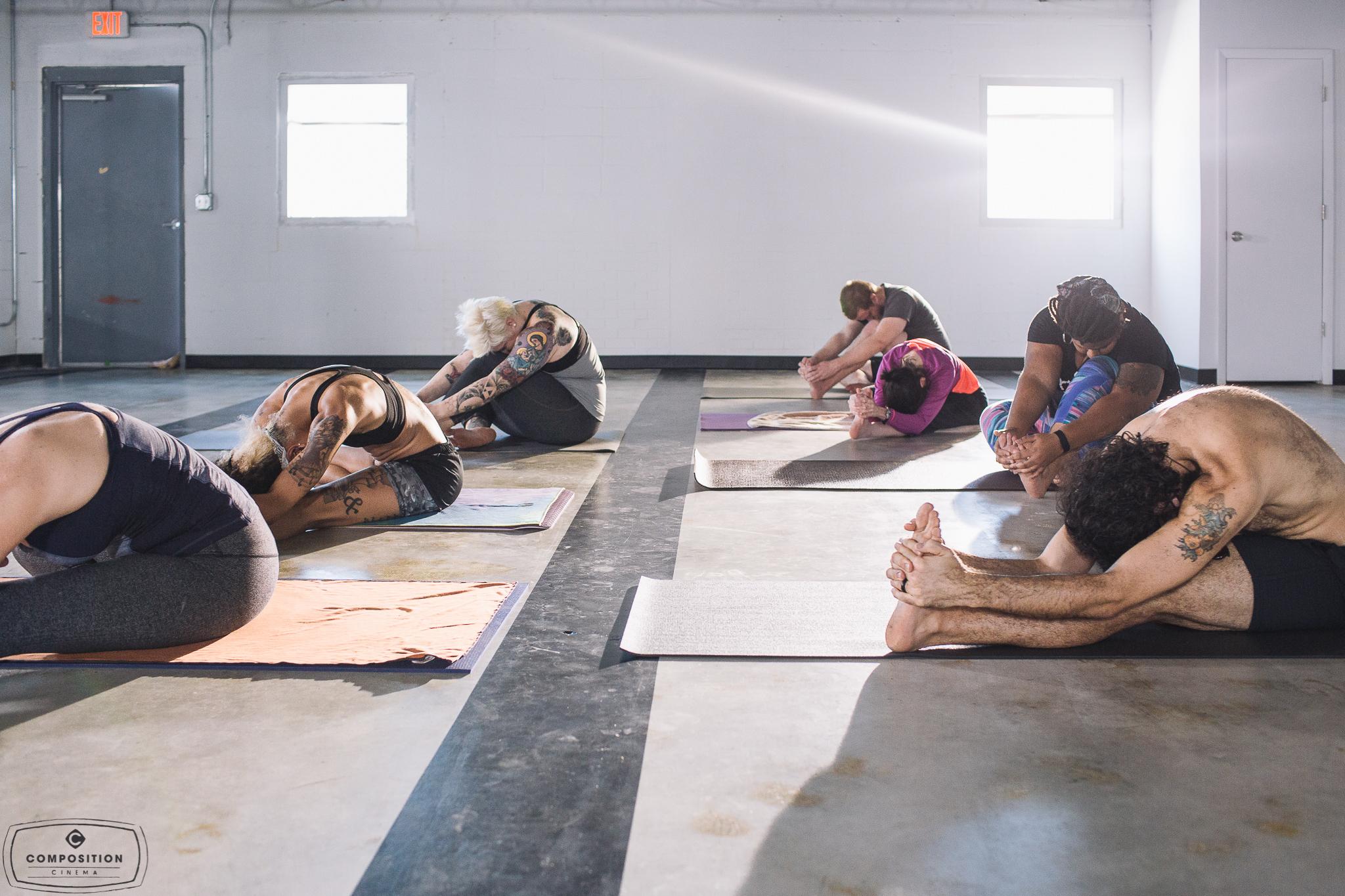 Gaze Hot Yoga Class 4