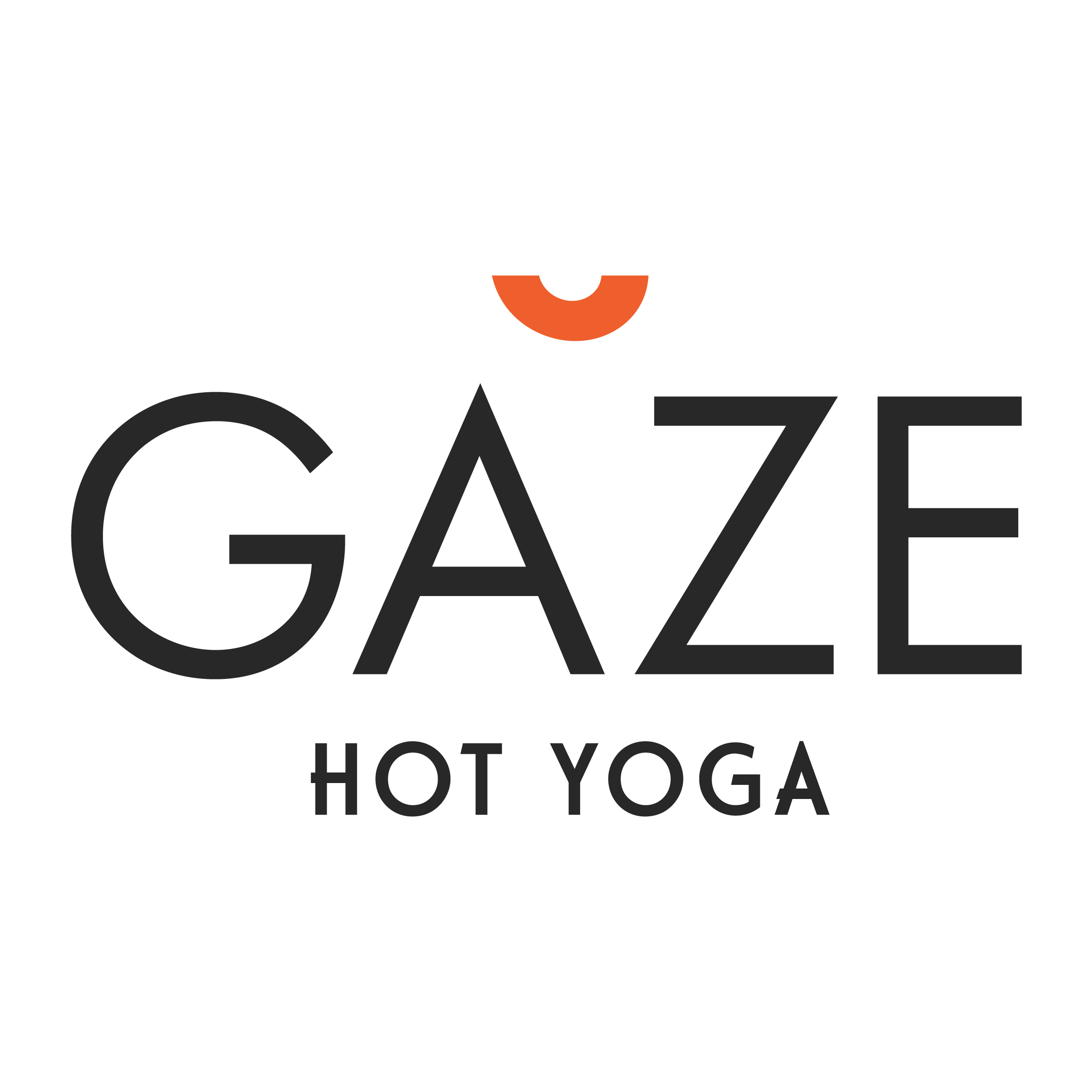 Gaze Hot Yoga Logo