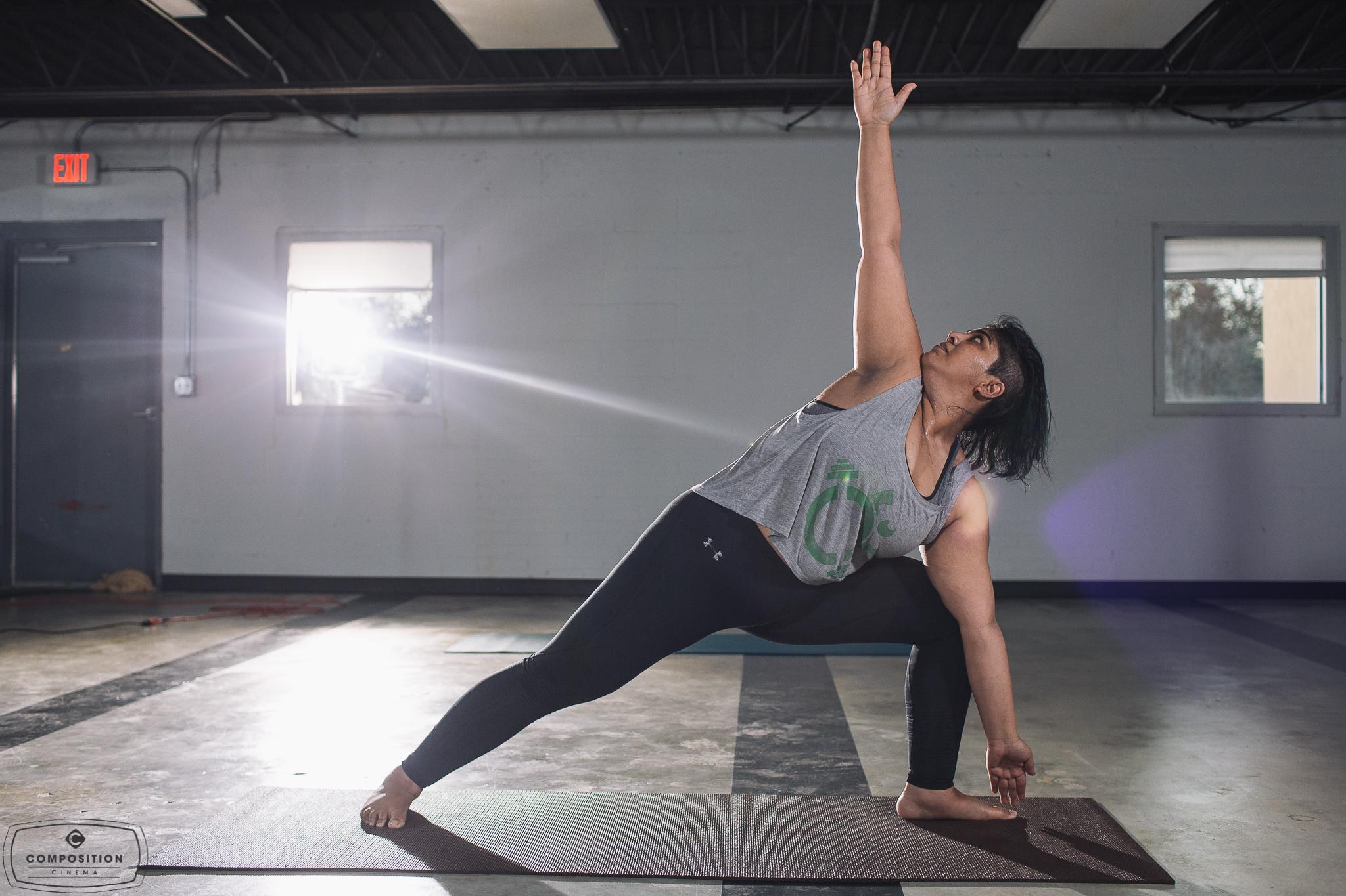 Gaze Hot Yoga Class 3