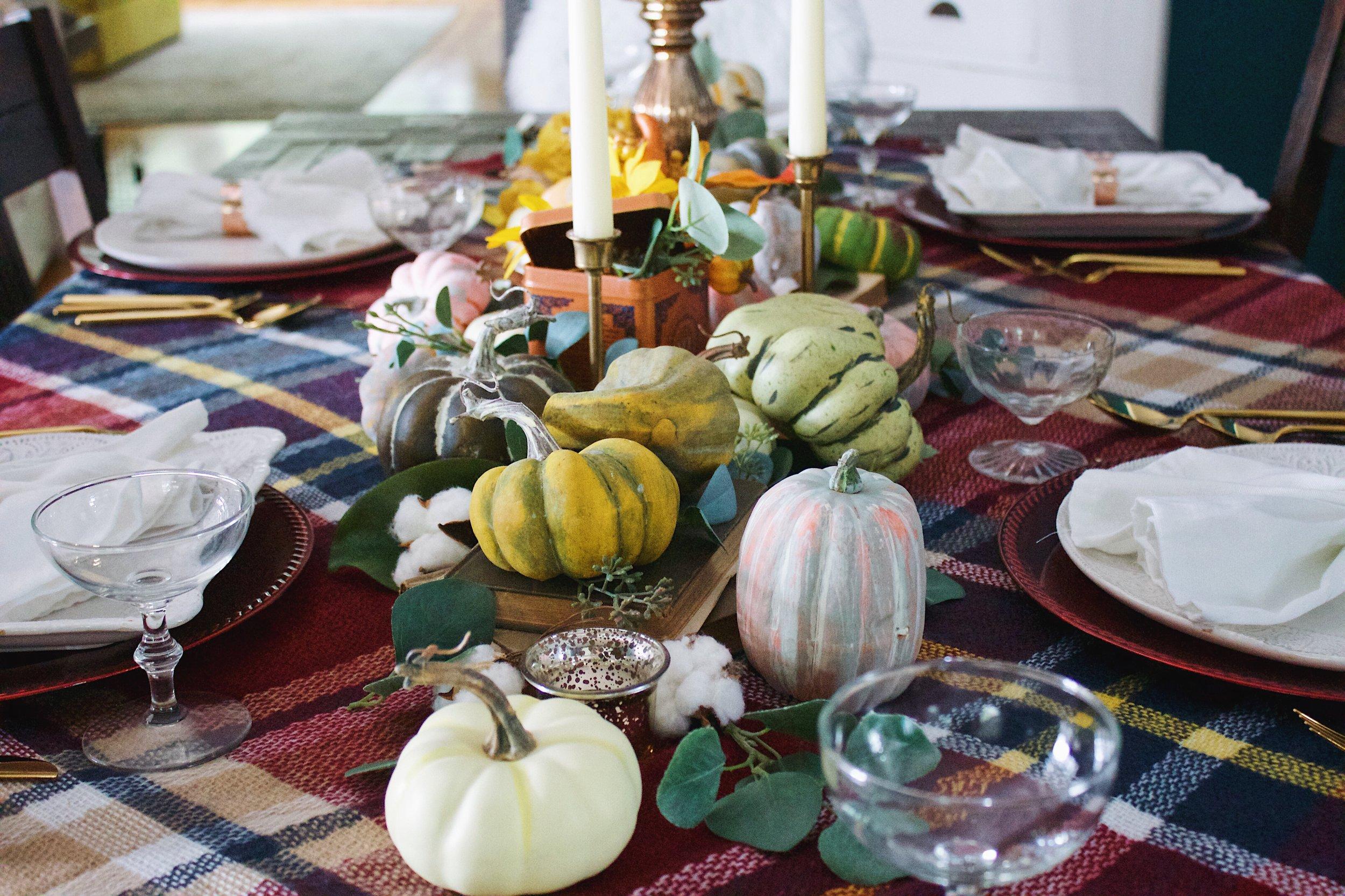 Fall Table Design