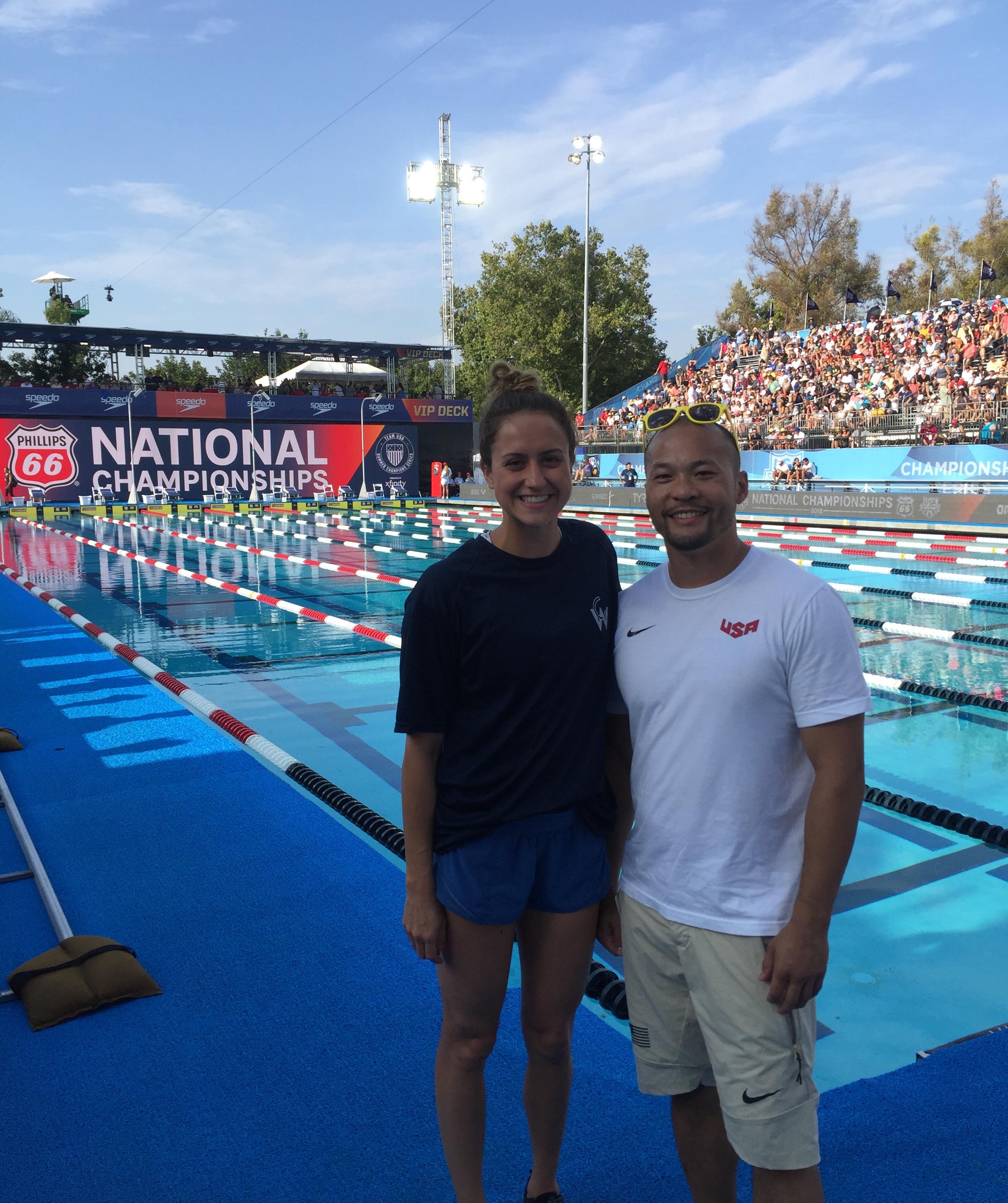 Ali & Chris @ the 2018 US National Championships