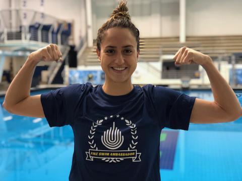 Ali DeLoof, Fike Swim Ambassador!