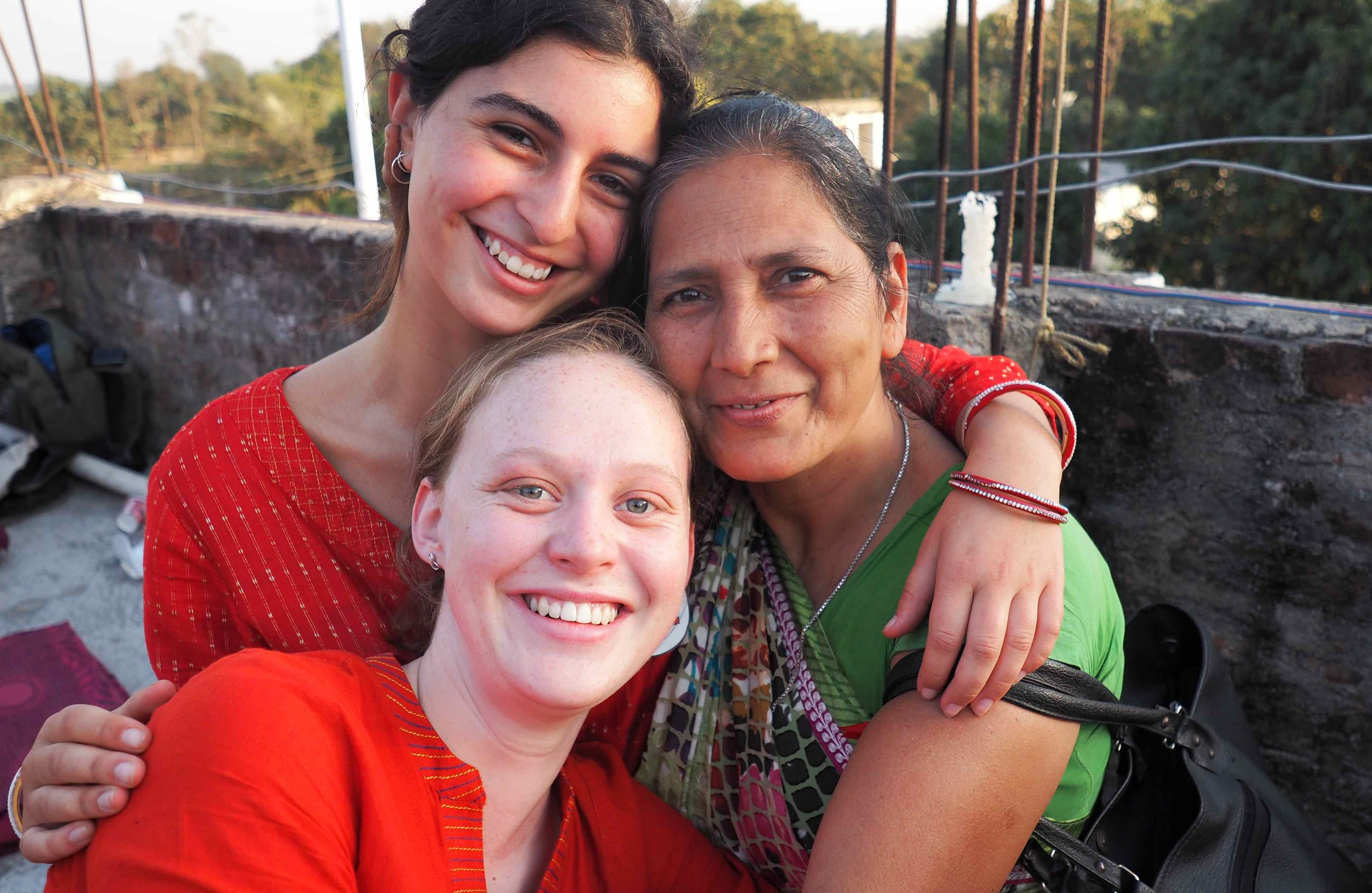 Read Catherine's experiences in India