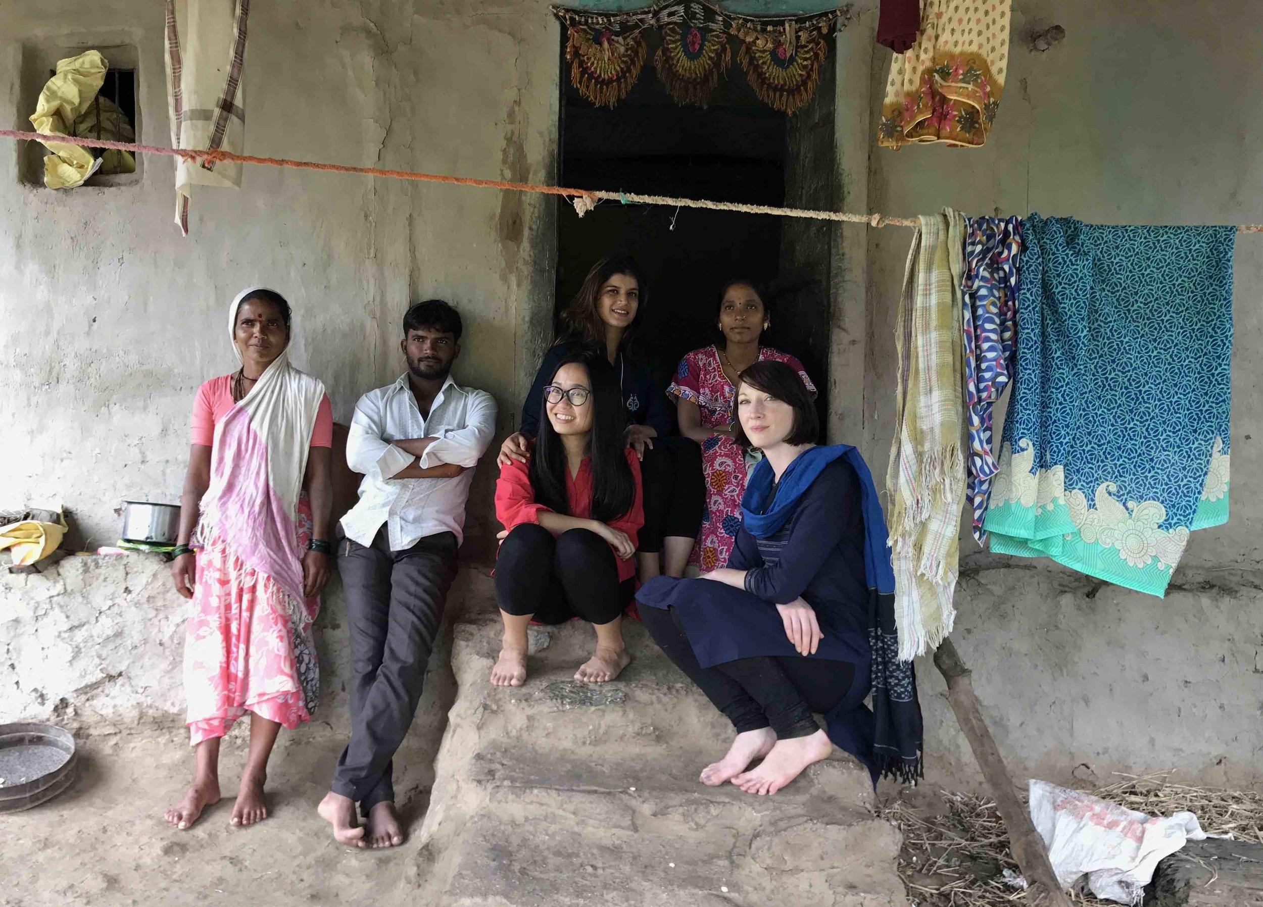 Read Belinda's family experiences in Maharashtra