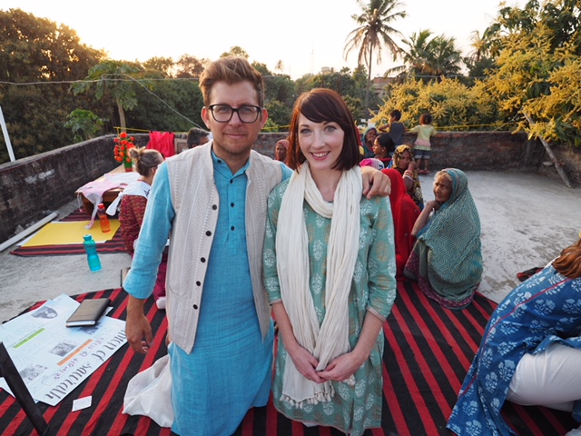 Nathan and Laura empathy experiences drishtee immersion india