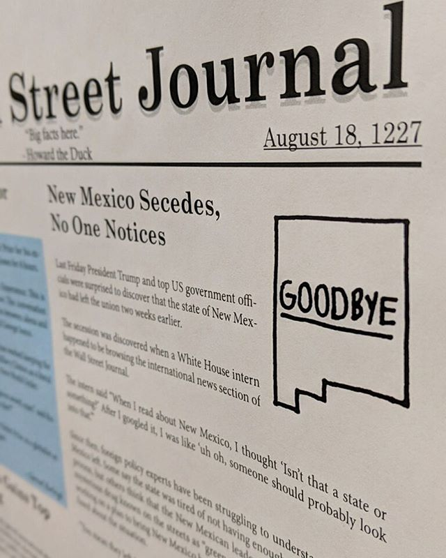 "Need to poop? 💩 - 🍀 Lucky for you, WE JUST PRINTED THE NEW STALL STREET JOURNAL TODAY!! Come by Fidel and have a ""see-ya-later"" poop before heading out for Spring Break!"