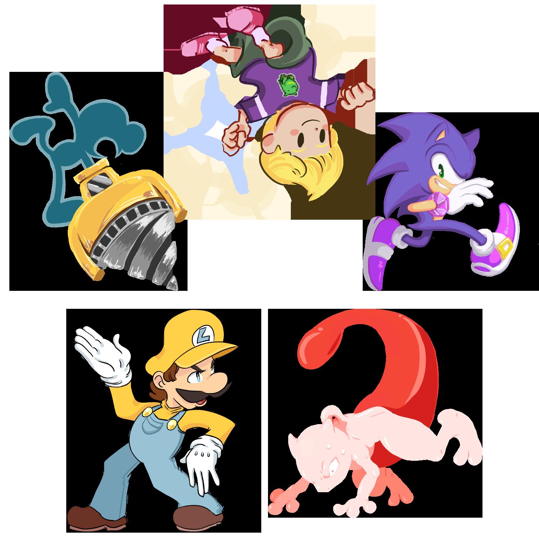 Super Smash Bros Collab. Entries
