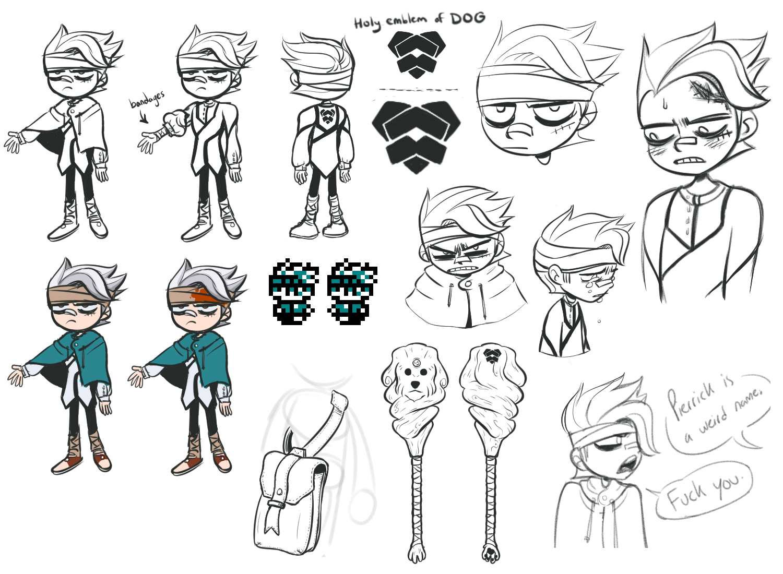 Pierrick Design Sketches
