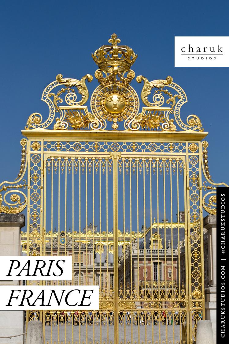 Paris France by Charuk Studios
