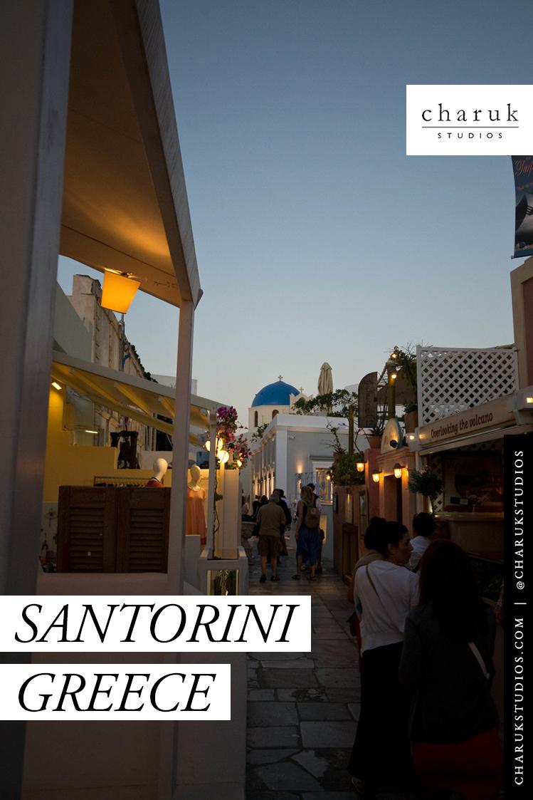 Santorini Greece by Charuk Studios
