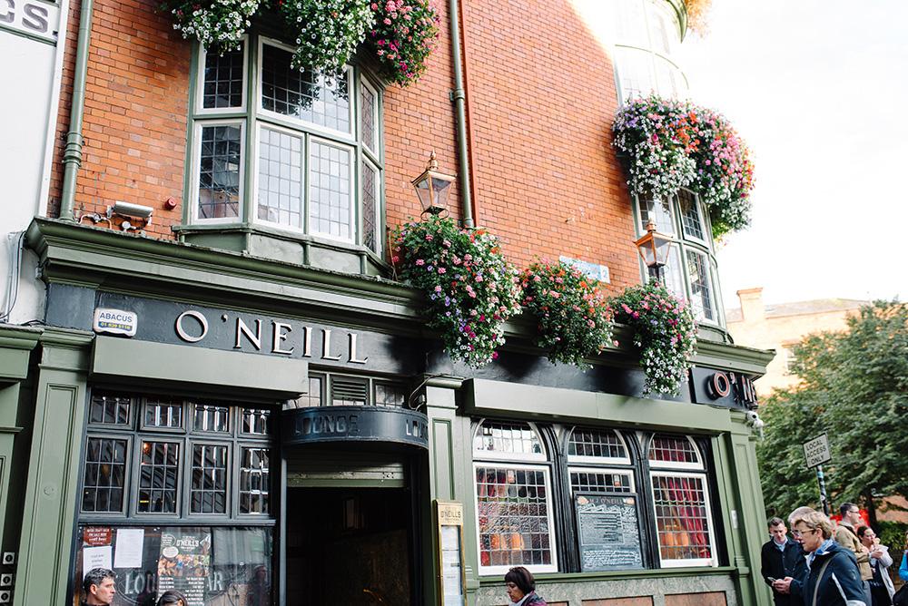 Cute Irish pub!