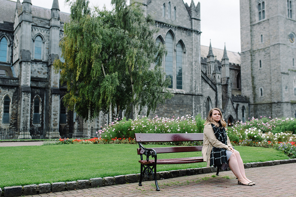 Christ Church Cathedral & below also Dublin Castle and St. Patrick's Cathedral
