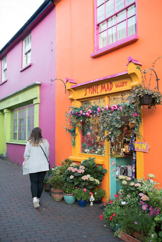 Colourful building in Kinsale