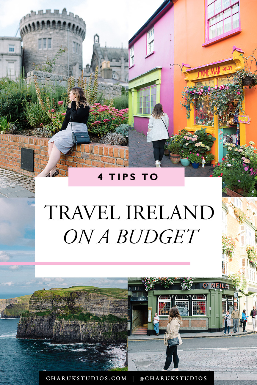 4 Tips to Travel Ireland on a Budget by Charuk Studios