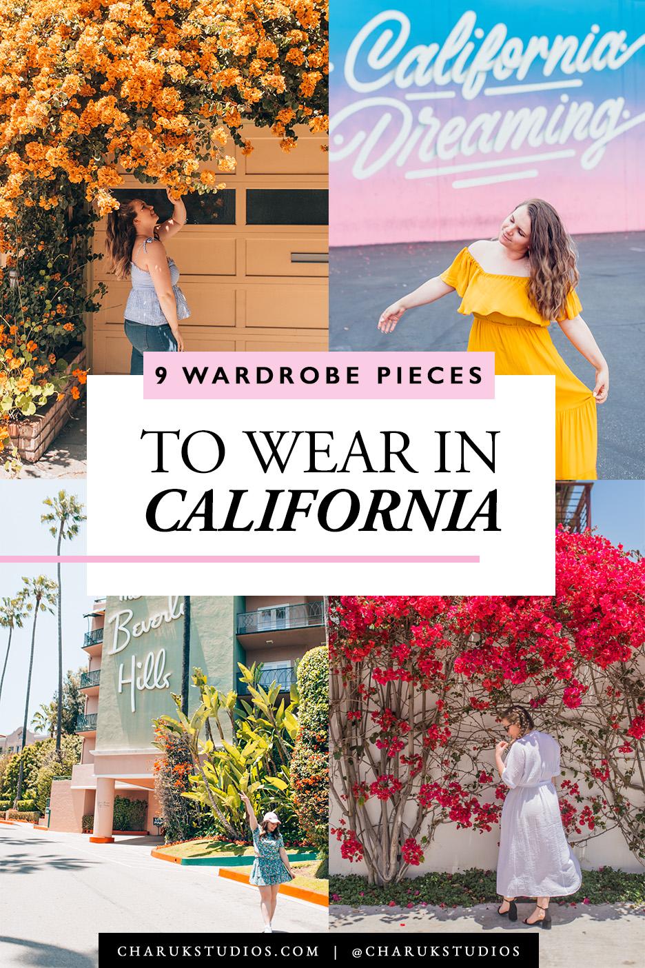 9 Wardrobe Pieces to Wear in California by Charuk Studios