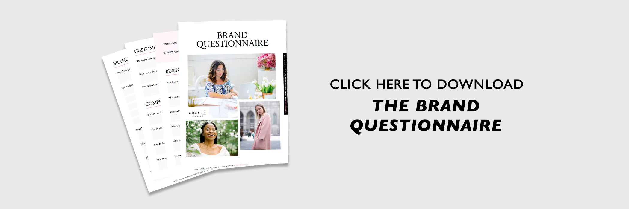 Download the Brand Questionnaire by Charuk Studios