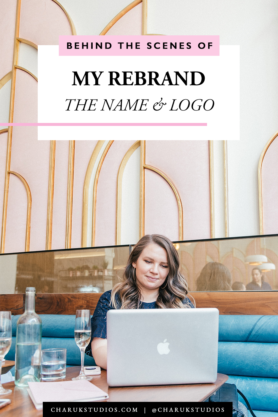 Behind the Scenes of My Rebrand: Meaning Behind the Name & Logo by Charuk Studios