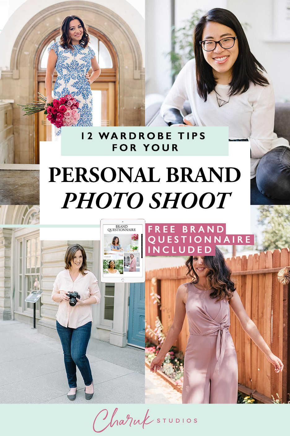 12 Wardrobe Tips for Your Personal Brand Photo Shoot by Charuk Studios