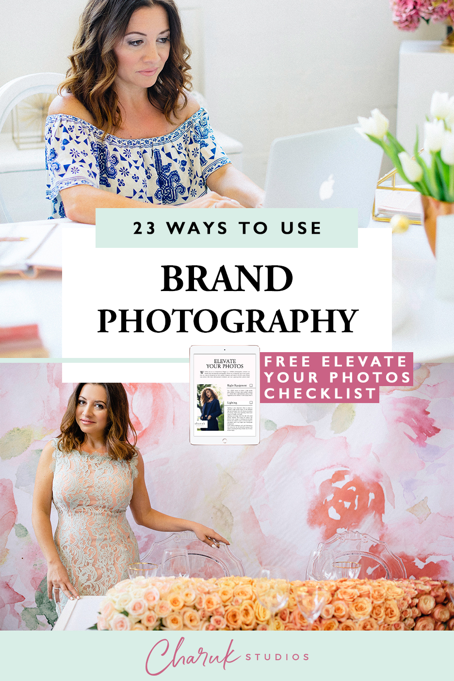 23 Ways To Use Brand Photography by Charuk Studios