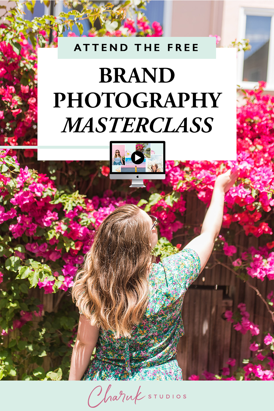 Attend the Free Brand Photography Masterclass by Charuk Studios