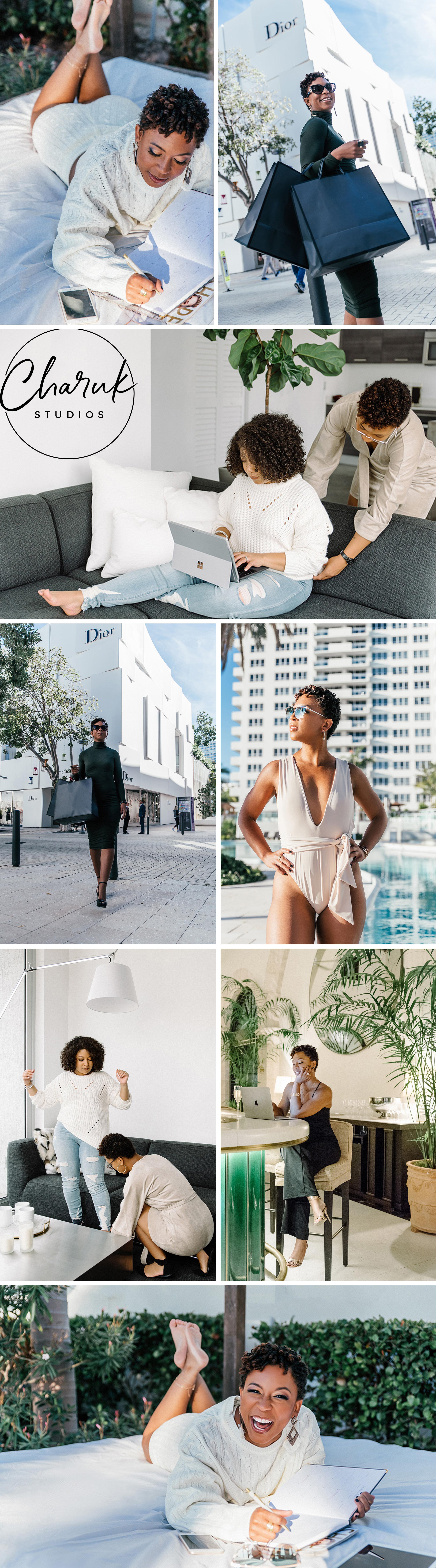 Brand Photo Shoot for Image Consultant Shana Robinson by Charuk Studios