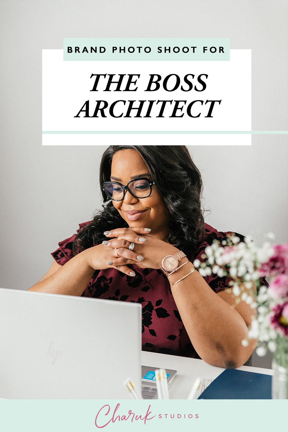 Brand Photo Shoot for The Boss Architect by Charuk Studios