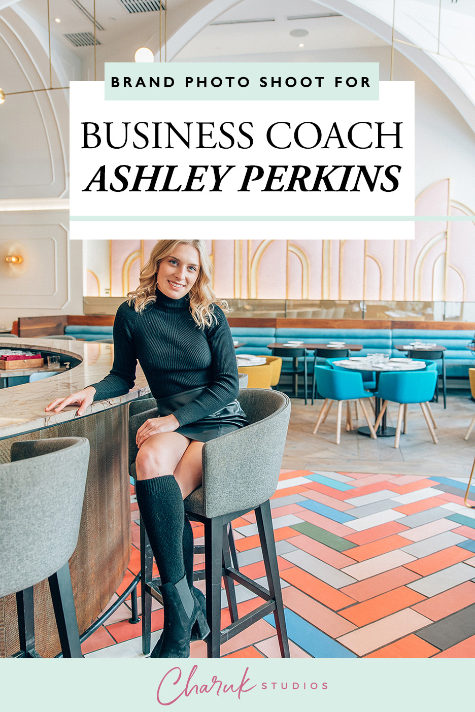 Brand Photo Shoot for Business Coach Ashley Perkins by Charuk Studios