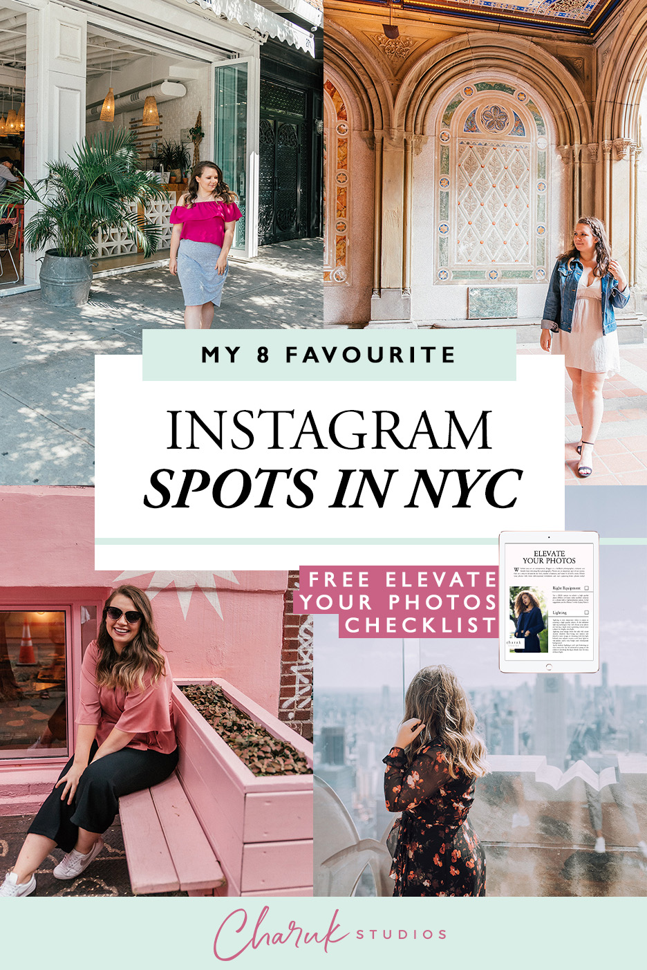 My 8 Favourite Instagram Spots in NYC by Charuk Studios