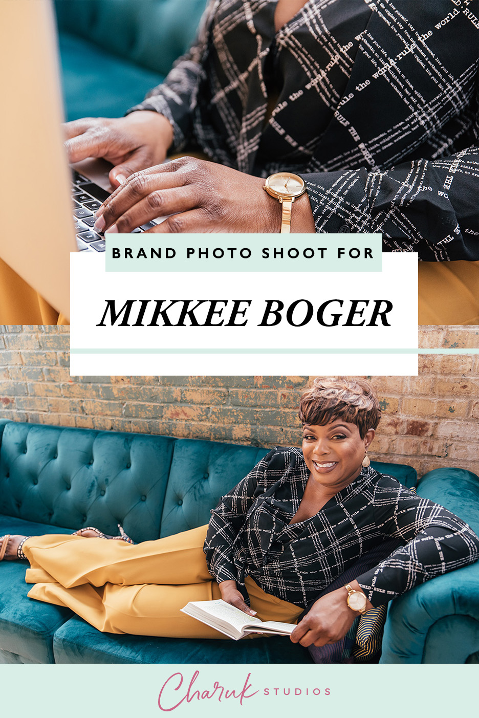 Brand Photo Shoot for Mikkee Boger by Charuk Studios