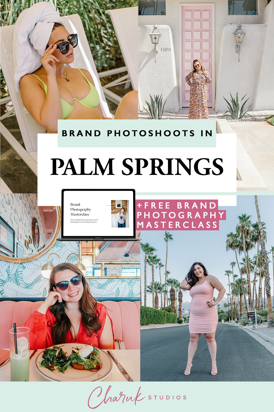 Palm Springs Photo Shoots + Vlog by Charuk Studios