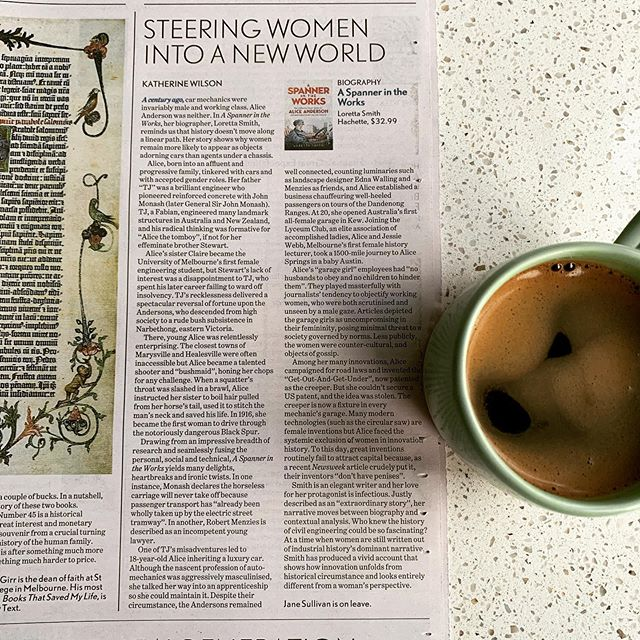 My review of Loretta Smith's book in Fairfax newspapers today. A gobsmackingly good read. Link to the review in my bio.