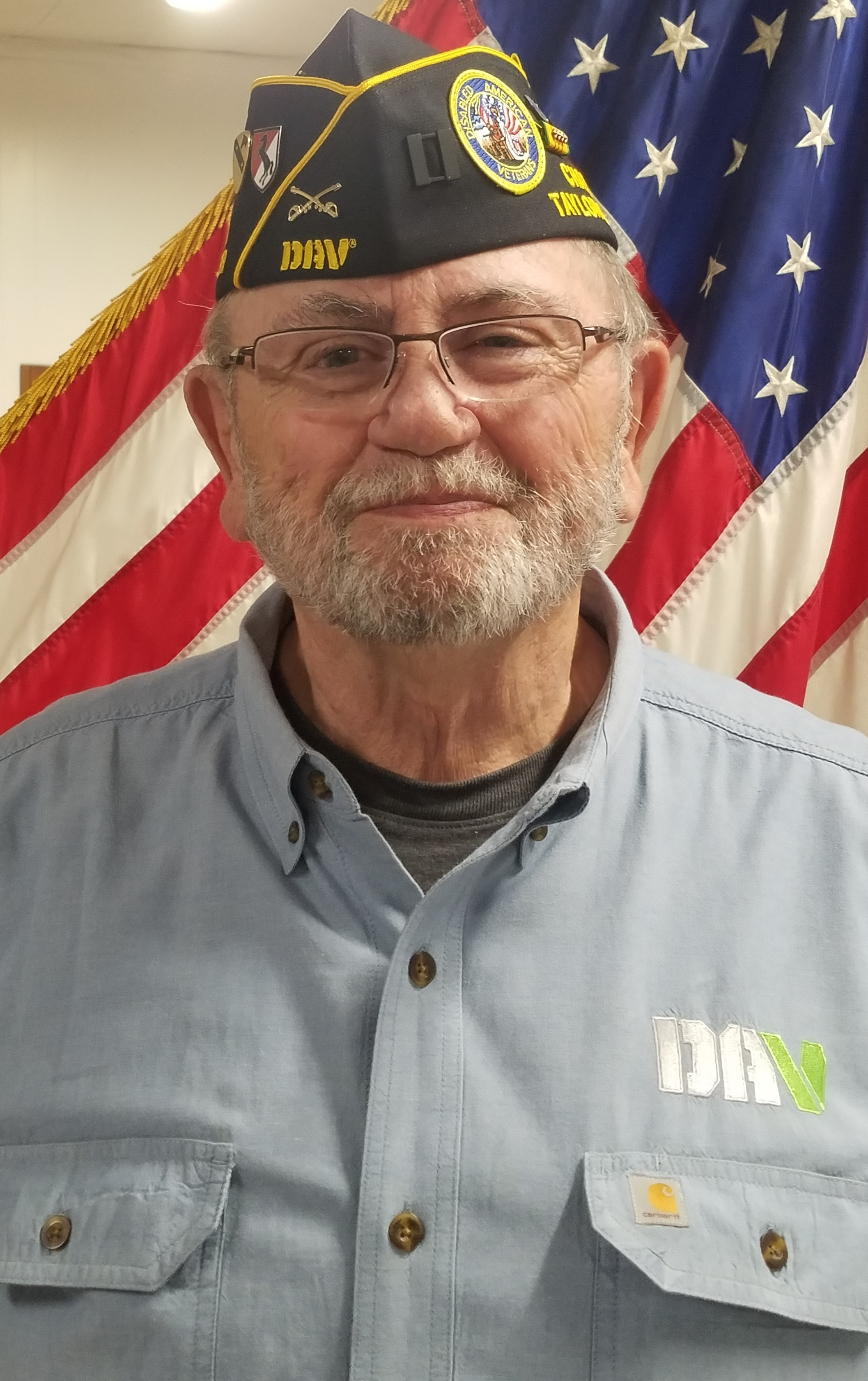 david geasland , ADJUTANT (2018- ) Service Officer