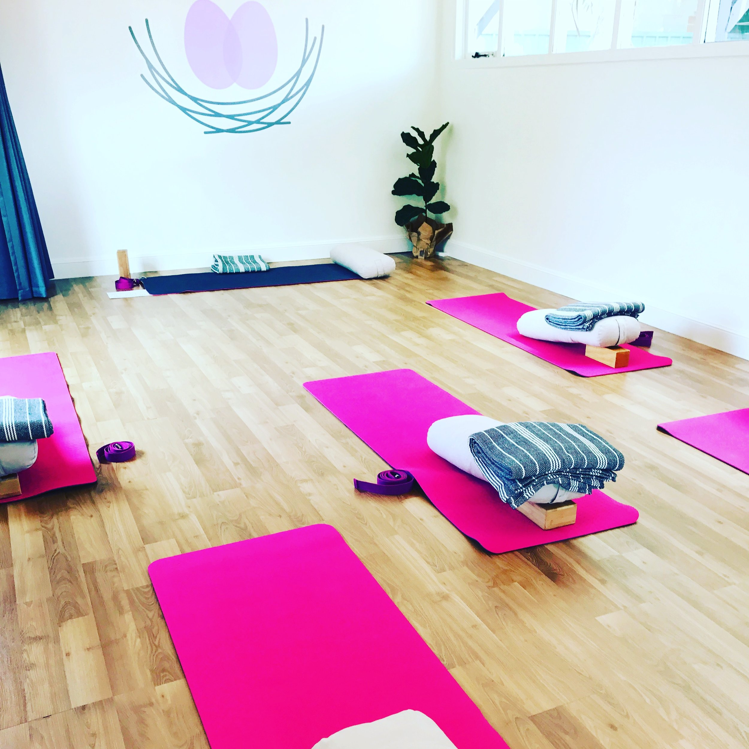 Yoga - A beautiful studio space for prenatal, mums & bubs and fertility yoga