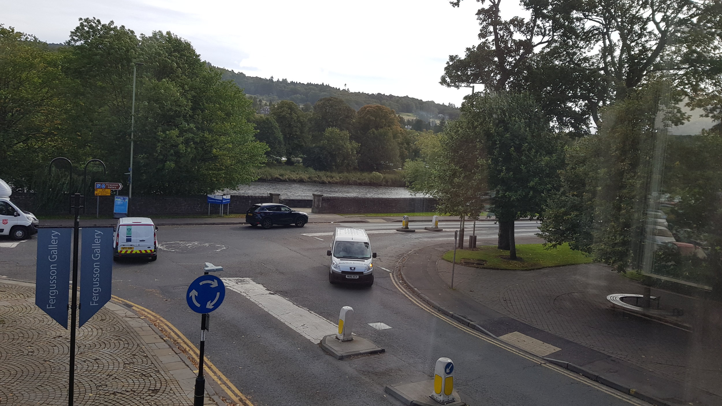 View over River Tay from the premises