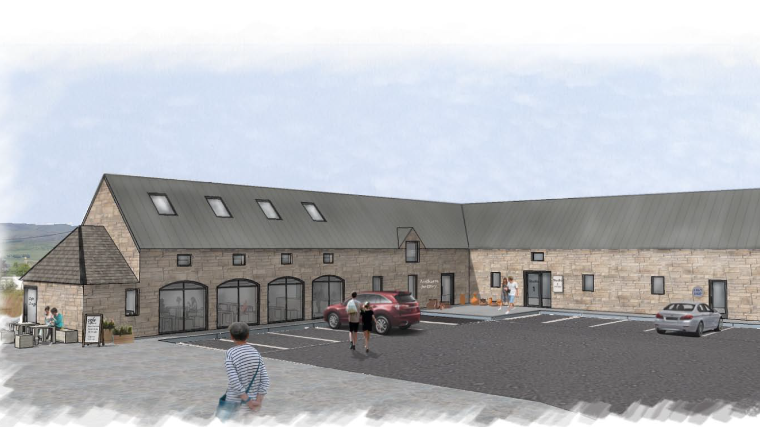 Artists Impression of Completed Development