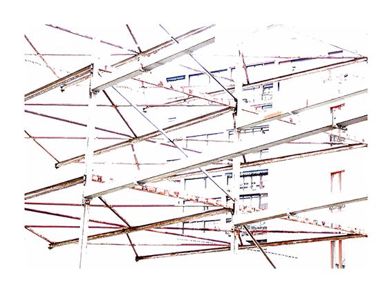 Halfway to White #34, Joséphine Michel, 2013