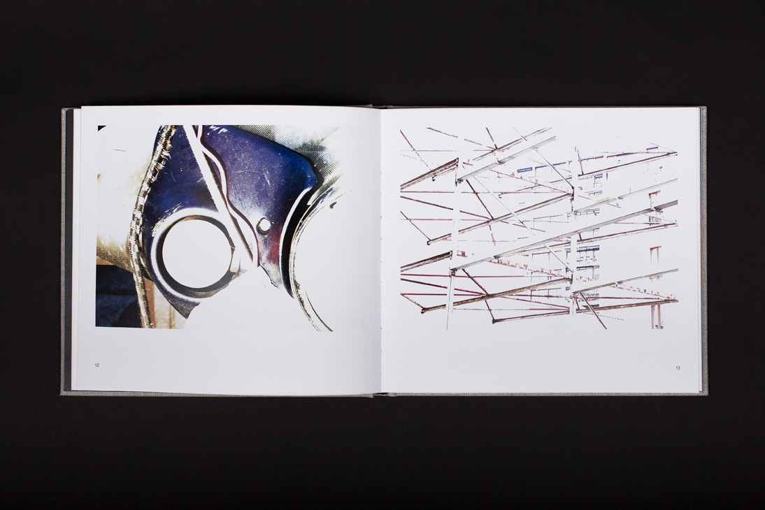 Halfway to White  book spread. Image courtesy Joséphine Michel