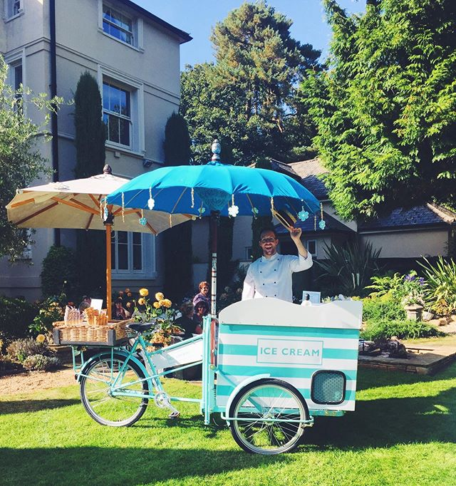 Keep on shining ☀️ We can supply 🍦tricycles together with our events.  All sorts of tricycles in fact: mulled wine 🍷, Sipsmith gin🍸, champagne 🥂and coffee ☕️ 💫What would you like to see served from a trike? _______________________________________ #urbantricycles #icecreamtricyclehire #pureindulgencecatering #londoneventcatering #fulhamevents #surreycaterer #summerpartyideas #christmaspartyideas #londoneventplanner #eventprofs #sunnydays #indiansummer