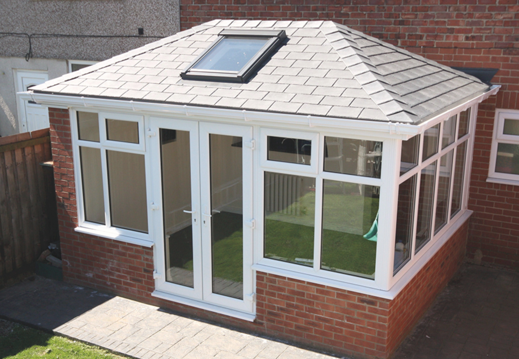 Guardian warm roof replacement conservatory roof