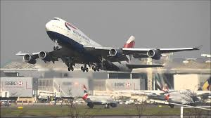 Plane Takeoff Heathrow