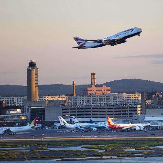 Boston Logan Airport (BOS)