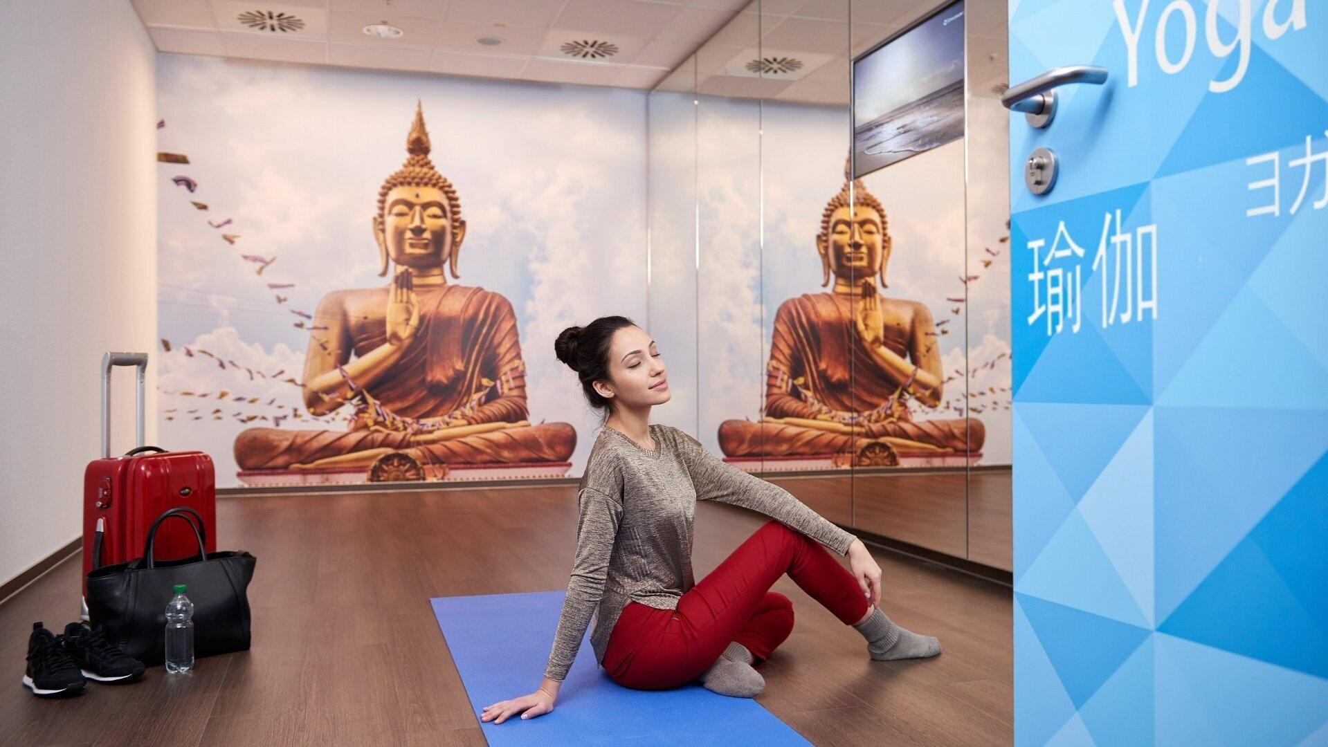 Image from  https://shop.frankfurt-airport.com/en/service/yoga-raum