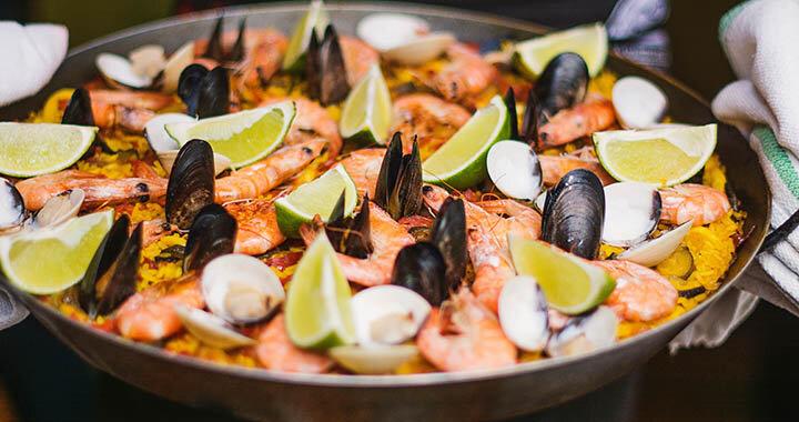 Spanish Cuisine (Image - sunnyspainholidays.com)