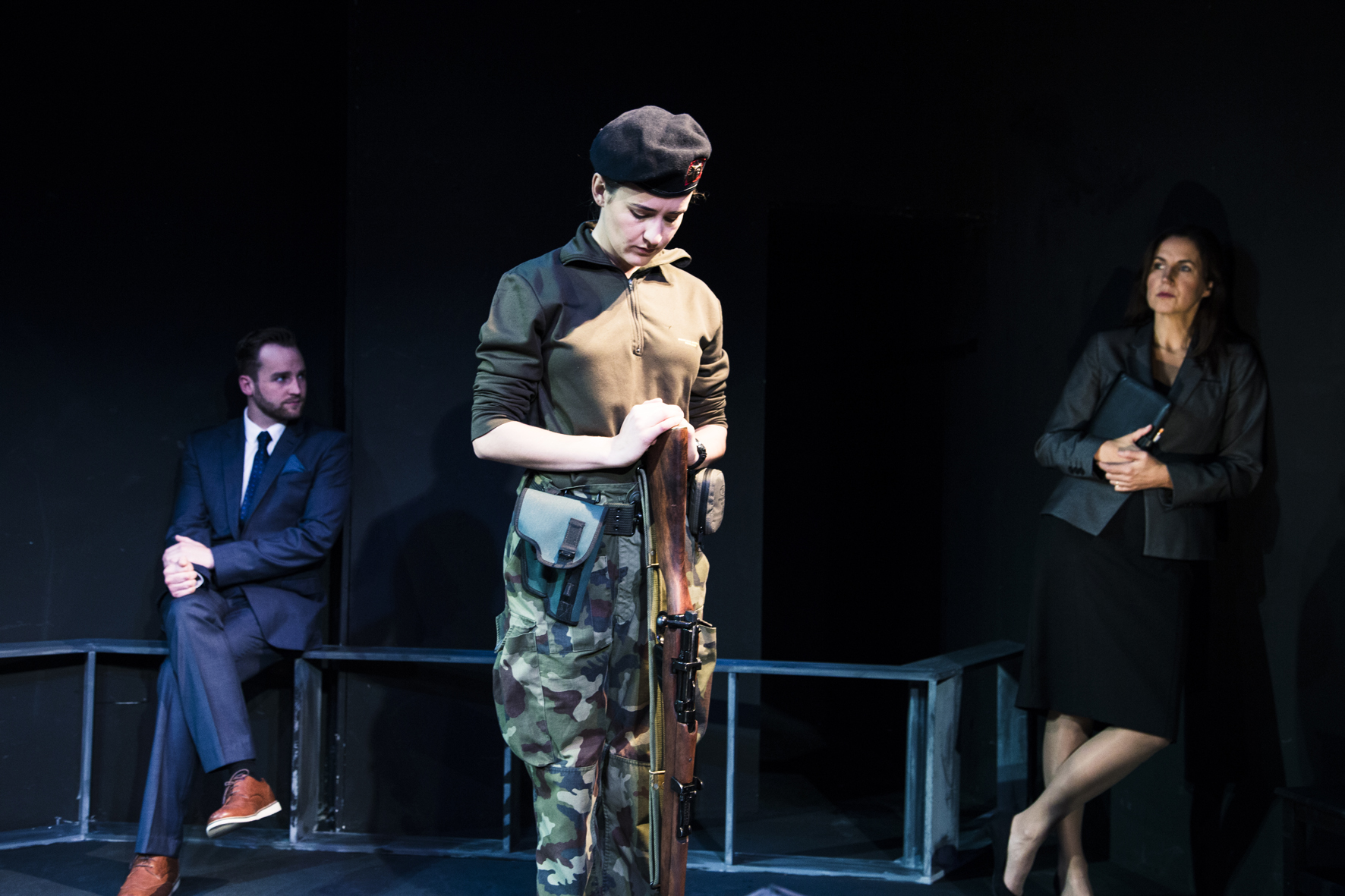 Gerard Humphrey's play Lockdown wins Steward Parker Award 2016